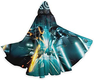 JoyceMHunter Daft Punk - Tron Legacy CapeHalloween Costume Masquerade Cloak,Adult Halloween Cloak,Halloween Cape