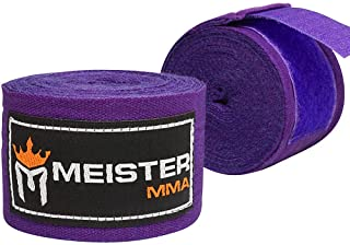 "Meister Elite 180"" Premium Adult Hand Wraps for MMA & Boxing (Pair)"