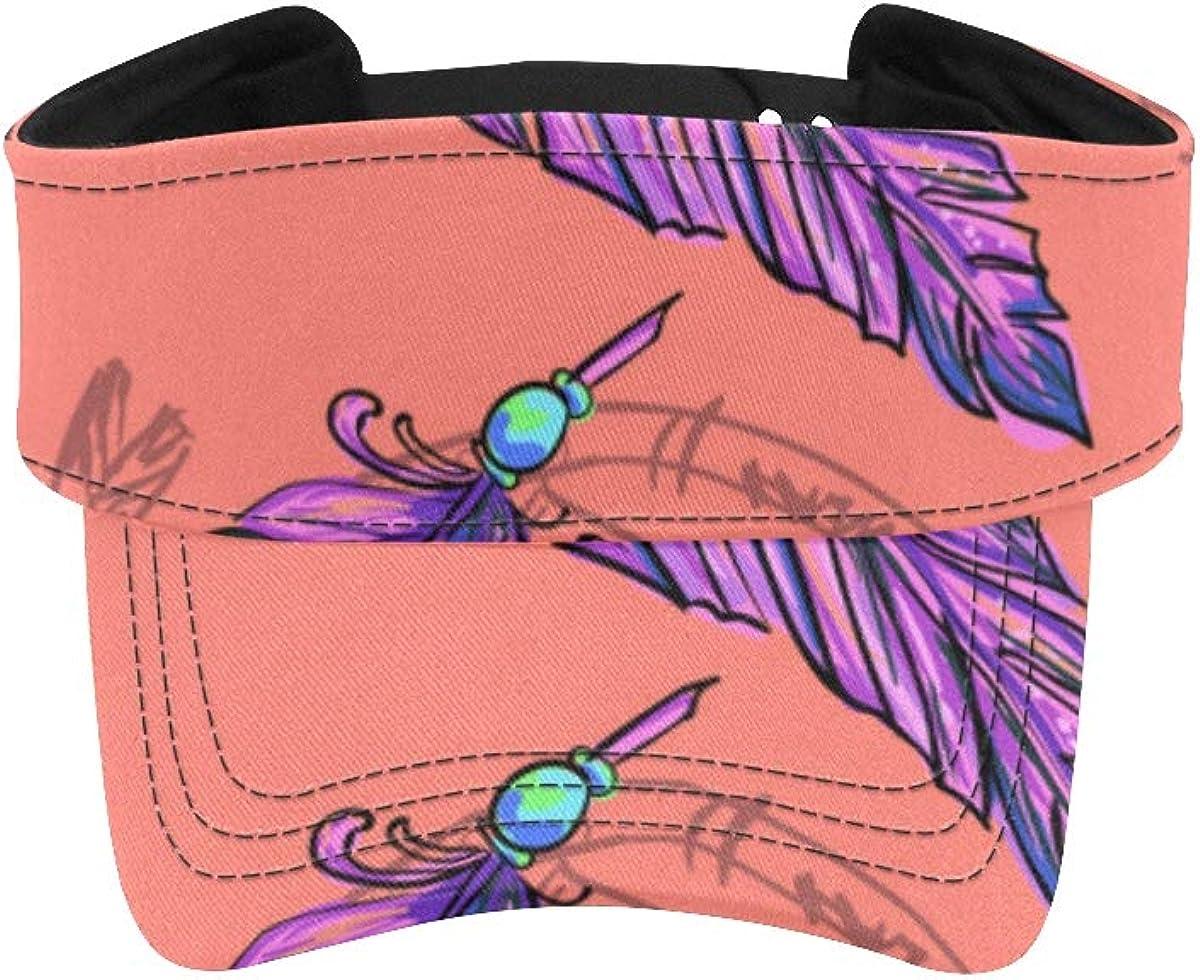 Women Sun Visor Sport Feathers Fantastic Hats Birds Summer Branded Max 70% OFF goods