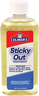 Elmer's Sticky Out Adhesive Remover, 4.0 Ounces, Clear (171)