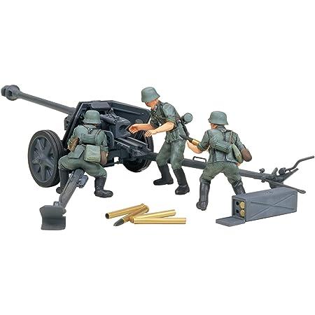 タミヤ 1/35 ミリタリーミニチュアシリーズ No.47 ドイツ陸軍 75mm 対戦車砲 プラモデル 35047