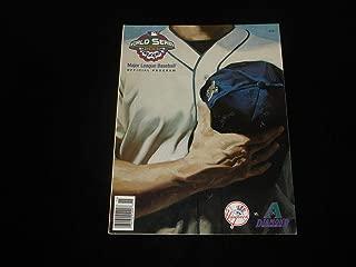 2001 World Series Program-Diamondbacks @ Yankees-Unscored-NM-Yankees Insert - MLB Programs