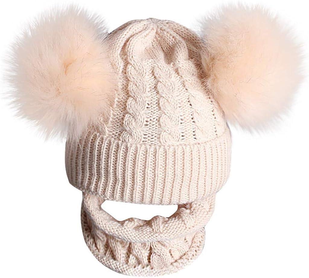 Detroit Mall Baiggooswt 2PCS Kid Baby Knitting Wool Hemming quality assurance Keep Warm Winter
