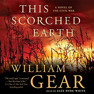 This Scorched Earth audiobook cover art