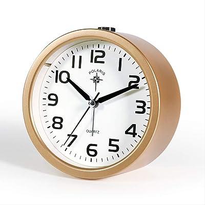 CLHXZE Reloj de Mesa de Metal Europeo | Sala de Estar Dormitorio ...