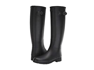 Hunter Original Refined Rain Boots (Black) Women