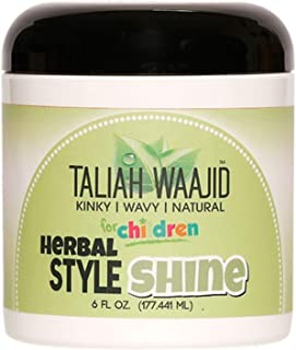 Taliah Waajid Kinky, Wavy, Natural Herbal Style & Shine, 6 oz (Pack of 3)