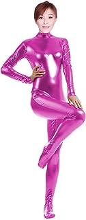 WOLF UNITARD Shiny Metallic Unitard Catsuit Dancewear