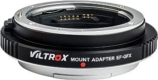 EF-GFX Aperture Control Lens Adapter Auto-Focus Lens Converter Ring for Canon EF/EF-S Lens to Fuji GFX Mount Medium Format Camera Fujifilm GFX 50S / 50R
