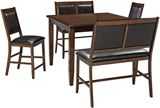 Signature Design by Ashley Meredy Dining Table Set, Brown