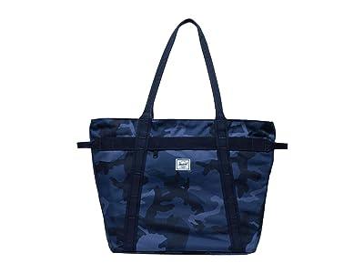 Herschel Supply Co. Alexander Zip (Peacoat Camo) Tote Handbags
