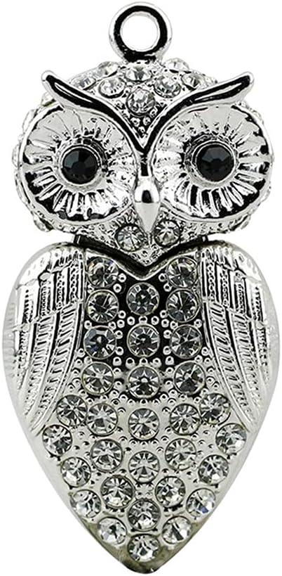 Civetman Limited Special Price USB Flash Drive 256GB Design Jewelry Crystal Animal Phoenix Mall Owl