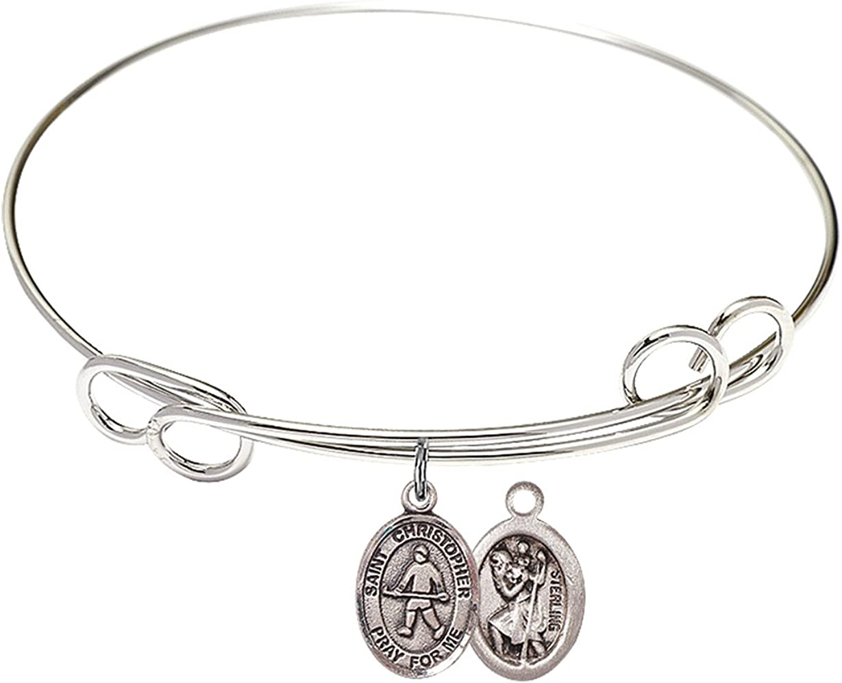 F A Dumont 7 1 2 inch Round In a popularity Bangle Loop Double Bracelet Max 88% OFF S with