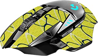 REYTID Durasoft Polymer Gaming Mouse Skin Grip Sticker Tape - PRE-CUT - Compatible with Logitech G502 - Slip-Resistant, Wa...