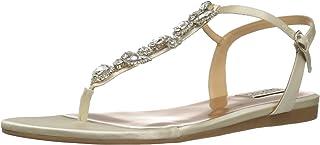Badgley Mischka Women's Sissi Flat Sandal