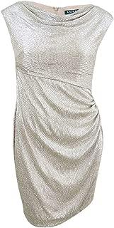 Best ralph lauren metallic cowl neck dress Reviews