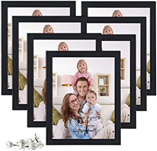 eae60f5f760 Giftgarden 8x10 Picture Frame Multi Photo Frames Set Wall or Tabletop  Display