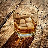 KADAX Trinkgläser, 6er Set, Saftgläser, robuste Wassergläser, Universalgläser aus hochwertigem Glas, Gläser für Wasser, Drink, Haus, Party, Garten, Cocktailgläser (Romi, 250 ml) - 7