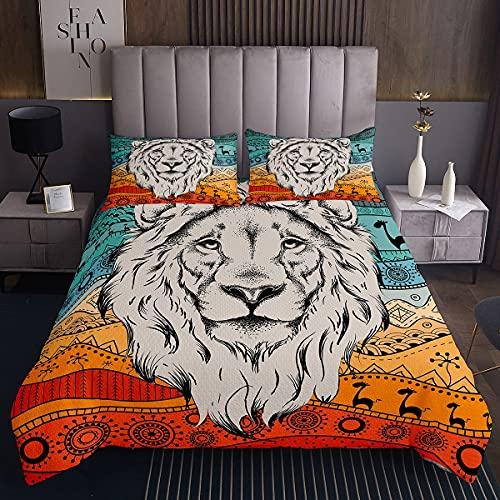 Tagesdecke-Set Löwe für Mädchen und Jungen...