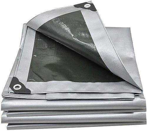 Bache de Prougeection épaissir Poncho Résistant à l'usure écran Solaire Extérieur Antipoussière Commode Prougeection De l'environnement Toile De Voiture (Taille   4  6m)