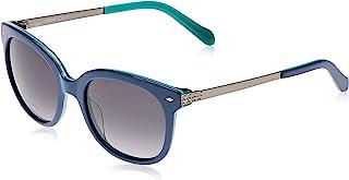Fossil Cat Eye Unisex Sunglasses - Grey Lens