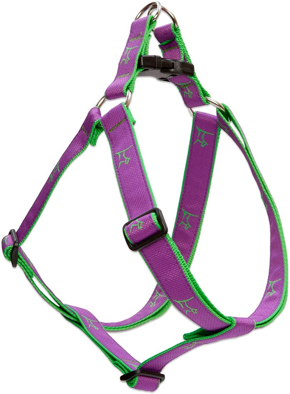 LupinePet Club 1  Hampton Purple 2438  Step In Harness for Large Dogs