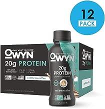 OWYN, Vegan Protein Shake, Cold Brew Coffee,12 Fl Oz (Pack of 12), 100-Percent Plant-Based, Dairy-Free, Gluten-Free, Soy-Free, Tree Nut-Free, Egg-Free, Allergy-Free, Vegetarian, Kosher