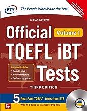 Official TOEFL iBT Tests Volume I W/DVD