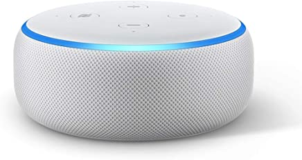 All-new Echo Dot (3rd Gen) – Smart speaker with Alexa - Sandstone Fabric
