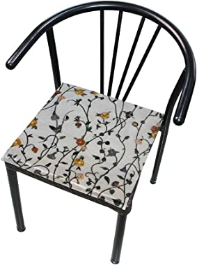 Seat Cushion Chair Cushions Covers Set Cute Floral Decorative Indoor Outdoor Velvet Double Printing Design Soft Seat Cushion