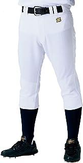 ZETT(ゼット) 野球 ユニフォーム レギュラー パンツ ヒザ 二重 補強 メカパン ホワイト(1100) BU1182P