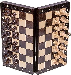 Square - Echecs en Bois - MAGNETIQUE Classic - Échiquier & Pièces d'échecs