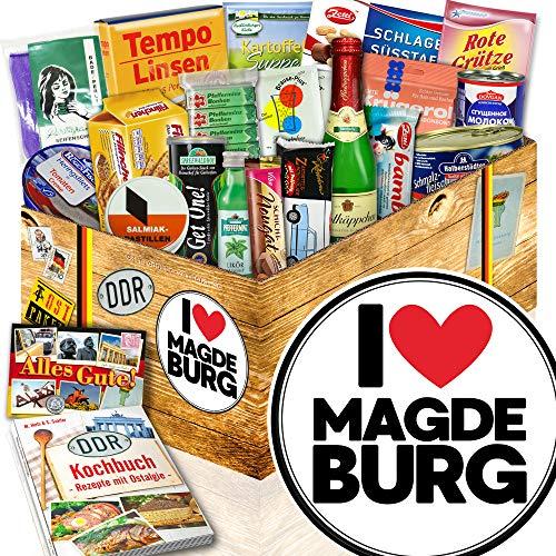 I love Magdeburg / Magdeburg Geschenk Paar / DDR Spezialitäten - Geschenk
