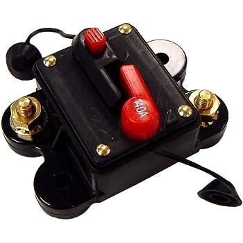200 Amp 12v Dc Circuit Breaker Replace Fuse 200a 12vdc Scosche Amazon Com