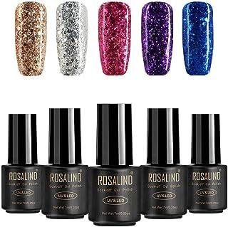 ROSALIND 3D magnético empapa del esmalte en gel de uñas UV LED de larga duración manicura de uñas arte de extensión de dis...