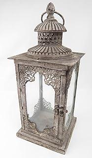 Deco 79 52900 Metal & Glass Lantern