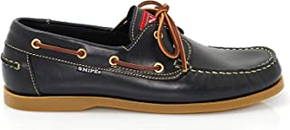 Zapato De Sport Snipe 22310 Náutico Cuero