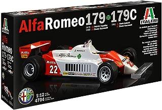 Italeri 4704 Alfa Romeo 179 - 179C 1/12 Scale Model Kit, Limited Re-Edition