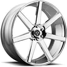 DUB Future P -Chrome Wheel with Painted (22 x 9.5 inches /6 x 139 mm, 30 mm Offset)
