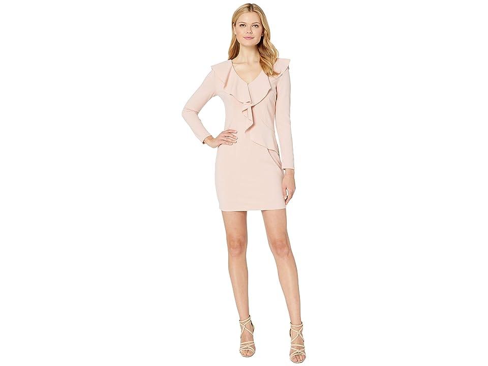 Image of ALEXIA ADMOR Ciara Ruffle Dress (Blush) Women's Dress