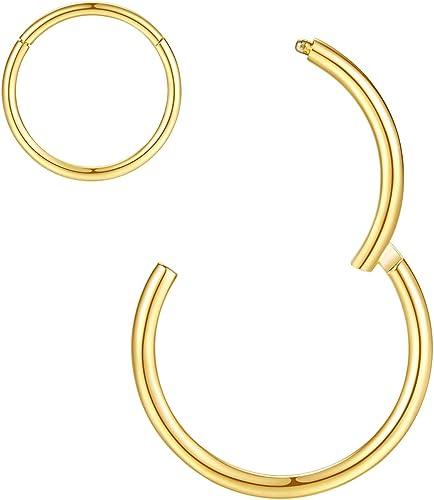 60PCS L Style Crystal Rhinestone Nose Ring Bone Stud Steel Piercing Jewe JF