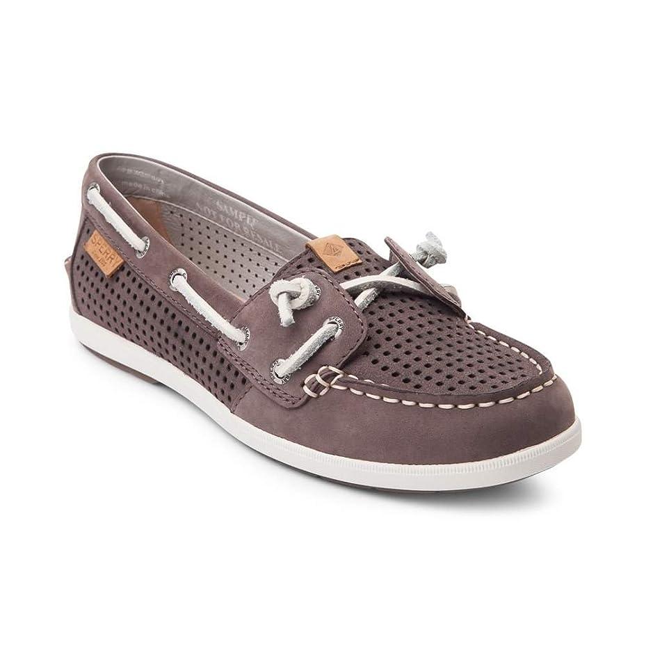 愛情深いに関して確立します(スペリートップサイダー) SPERRY TOPSIDER 靴?シューズ レディースボートシューズ Womens Sperry Top-Sider Coil Ivy Boat Shoe Graphite Gray グラファイト グレー US 7 (24cm)
