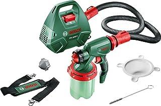 comprar comparacion Bosch PFS 3000-2 - Sistema de pulverización de pintura (650 W, depósito de pintura de 1000 ml, boquilla para lacas de colo...