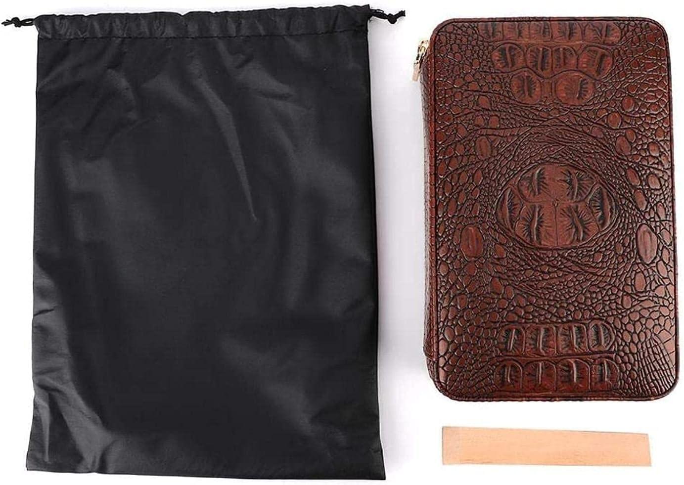 ZHJBD Max 67% OFF Smoking Set Cigar Accessories Humidor Portable Trav OFFer Wooden