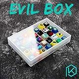 [Solo Caja] Caja Malvada Caja de Teclas de acrílico...