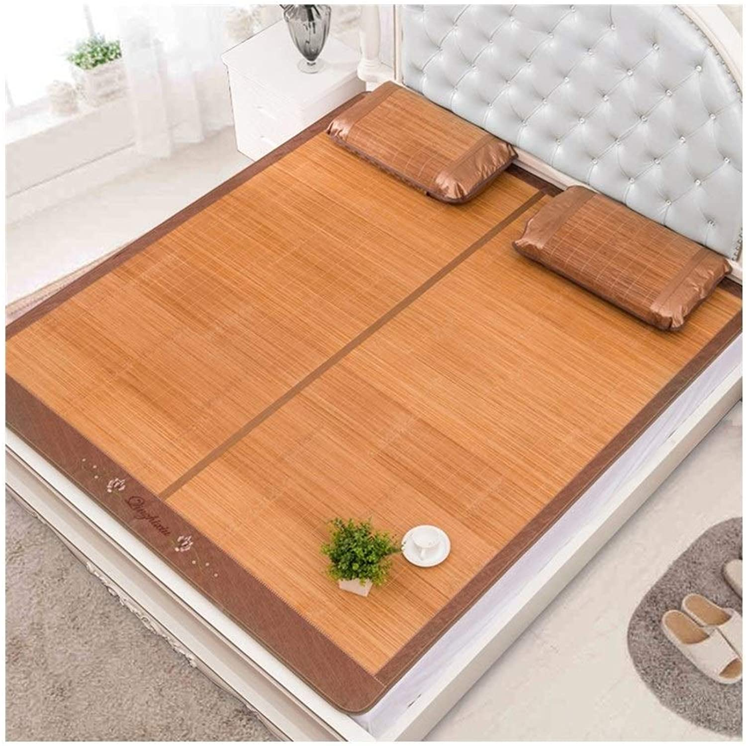 Bedding Straw mat Summer Sleeping mat Mattress Carbonization Process Foldable Double-Sided use mat