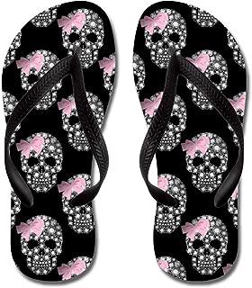 CafePress Diamond Diva Skulls Beach Sandals