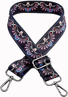 Women Cross-Body Strap Replacement Rivet Wide 3.8cm Wide Purse Strap Handbags Shoulder Bags Strap 78-140cm