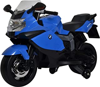 Megastar Super Hero Licensed Ride on BMW Motorcycle - 283, Blue