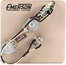 Emerson Custom 4-Way Prewired Kit for Telecaster Guitars - 250k Pots